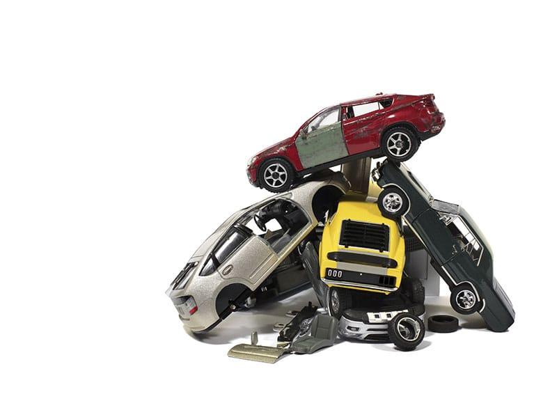 Multi Vehicle Auto Accident