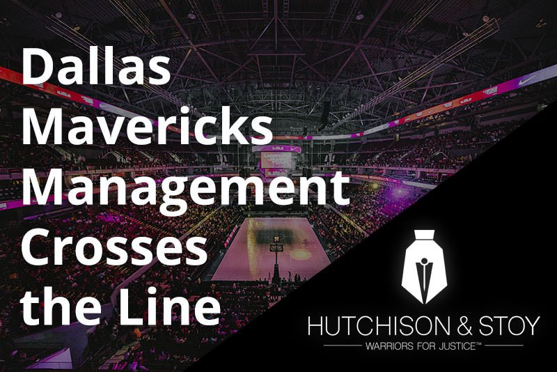 Dallas Mavericks - Sexual Harassment Lawyer