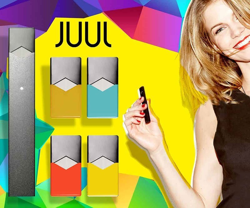 JUUL advertising to minors