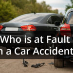 Determine who is at fault in a car accident