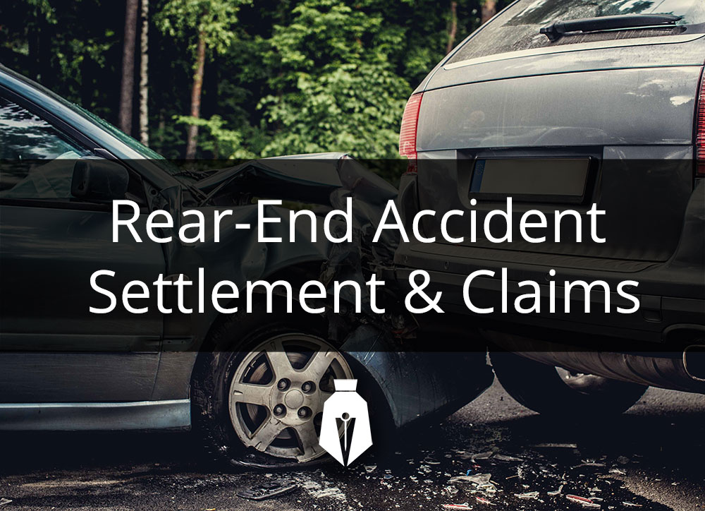 Rear End Accident Settlement & Claims
